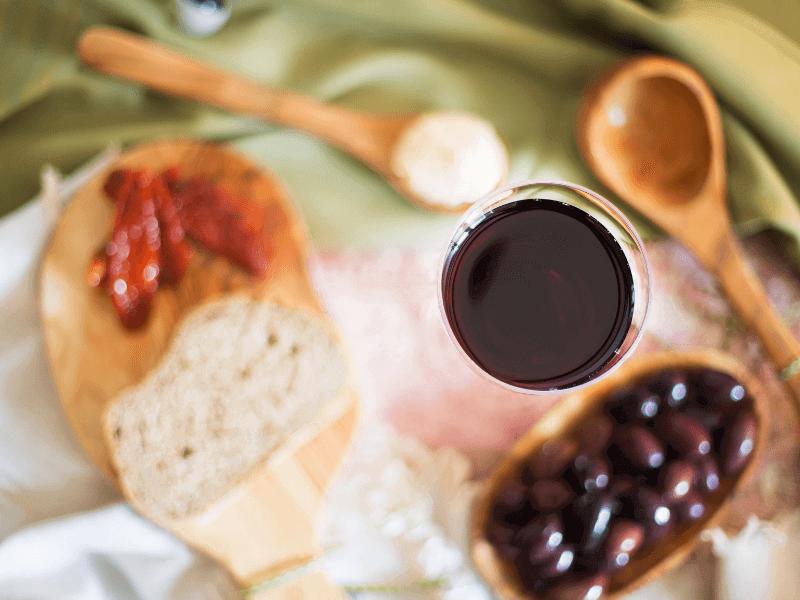 High Wine met heerlijke hapjes